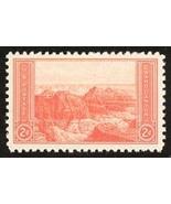 1934 2c Grand Canyon Scott 741 Mint F/VF NH - $22,01 MXN
