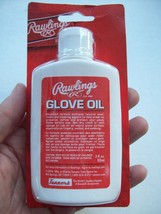 Rawlings Glove Oil 3 Fl. Ounce, New In Bent/Creased Hang Packaging, Great Deal! - $11.99