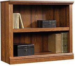2 Shelf Bookcase Adjustable Cherry New Home Library Den Book Storage Org... - $77.98