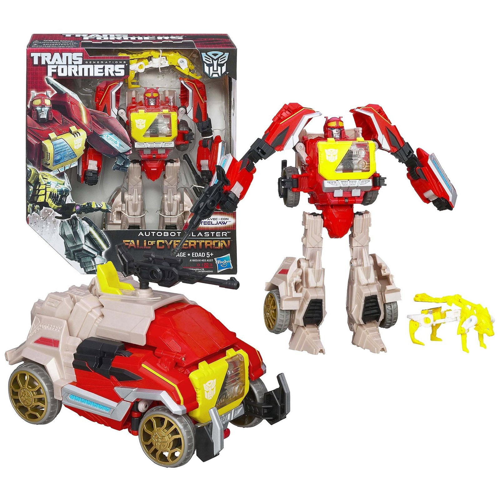 Transformers Year 2012 Generations Fall of Cybertron Series Voyager Class 7-1/2