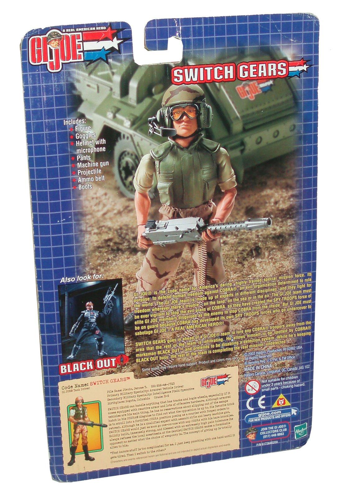 gi joe vs cobra year 2003 spy troops series 11 inch tall