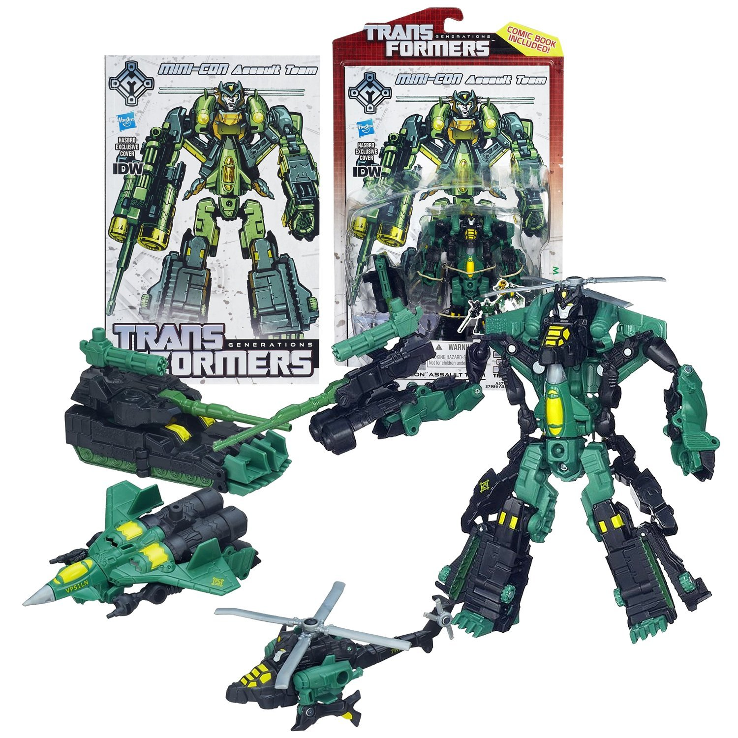 """Hasbro Year 2013 Transformers Generations """"Thrilling 30"""" Series Deluxe Class 6 I"""