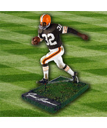 Jim Brown Cleveland Browns Signed NFL Football McFarlane Figurine - $140.00