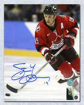 Steve Yzerman Team Canada Signed 2002 Olympic Games 8x10 Photo - $173.50