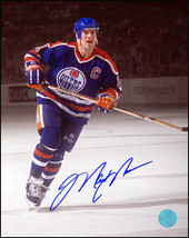 Mark Messier Edmonton Oilers Autographed Captain Spotlight 8x10 Photo - $173.50