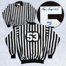Ray Scapinello NHL Referee Signed Referee Jersey - $195.00