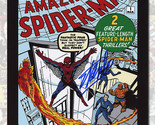 Stan Lee Signed The Amazing Spider Man #1 Comic Cover 8x10 Photo
