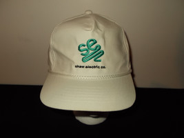 VTG-1990s Shaw Electric Company white rope Michigan snapback hat sku5 - $27.83