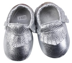Unique Baby 100% Genuine Leather Baby Moccasins Anti-Slip Shoes XS (4.5 ... - $14.99