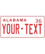 Alabama 1936 Personalized Tag Vehicle Car Auto License Plate - $16.75