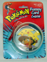 Pokemon Pikachu Gotta Catch 'Em All Vintage Rummy Card Game - $8.98