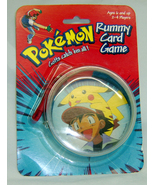 POKEMON PIKACHU GOTTA CATCH 'EM ALL Vintage RUMMY CARD GAME - $6.98