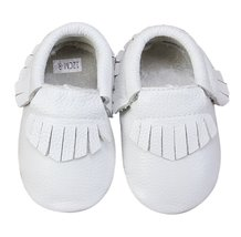 Unique Baby 100% Genuine Leather Baby Moccasins Anti-Slip Shoes M (5.5 i... - $14.99