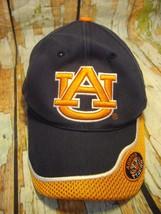 Auburn Tigers NCAA adjustable Hook& Loop fastener mesh on bill cap/hat - $12.99