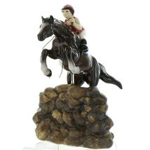 Hagen Renaker Specialty Horse Jumping with Rider Ceramic Figurine image 11