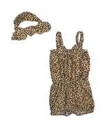 Unique Baby Girls Leopard Print Romper Headband Set 2-3 Years - $16.99