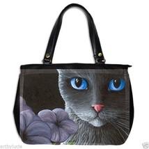 Office Handbag bag purse from art painting Cat ... - $51.99