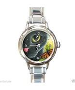 Italian Charm Watch from art painting Cat 555 b... - $15.99