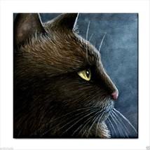 Ceramic Tile Coaster from original art painting Cat 549 - £13.40 GBP