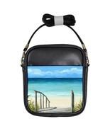 Small Sling Bag Purse Sea View 147 ocean beach ... - $24.99
