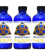 3 PACK! MONATOMIC GOLD ORMUS MANNA DNA Repair, Heightened Awareness Ormu... - $97.88