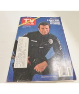 1982 TV Guide William Shatner T.J.Hooker August 14, 1982 Vintage - $13.09