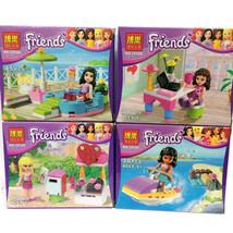 Friends Minifigures Girls Building Blocks Minifiguren Olivia Emma Stepha... - $40.00