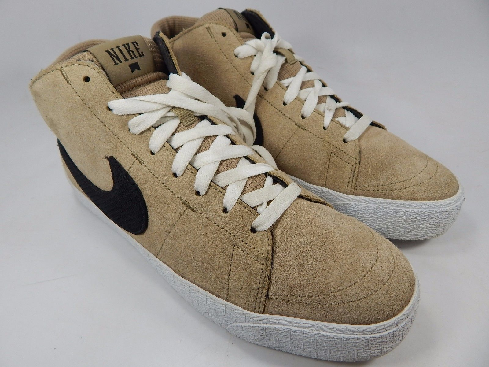Nike Blazer Mid Men's Athletic Shoes Size US 10 M (D) EU 44 Beige 510965-201