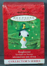 Hallmark Ornament BEAGLESCOUT Spotlight on SNOOPY Peanuts #4 in series 2... - $9.95