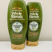 Garnier Whole Blends Replenishing Conditioner Legendary Olive 12.5oz *2 Pack Set - $15.00