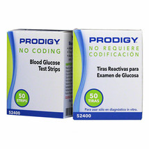 Blood Glucose Test Strips, No Coding Required with All Prodigy Meters, 100 Count - $15.39