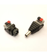 5.5mm x 2.5mm Quick Fix No Solder DIY Spring Clamp DC Power Connector - ... - $2.46+