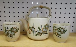 Old Vintage Ceramic Tea Pot Set  Made in Japan? - $6.79