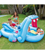 Inflatable Kids Pool Toy Swimming Water Slide S... - $69.47
