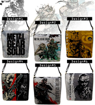 Metal Gear Solid HD Collection Messenger Bag (Custom PlayStation game th... - $32.99