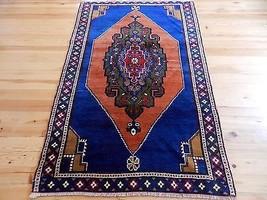 Vintage Turkish Rug From Middle Anatolia Yahyali Nomadic RARE Carpet 3'5... - $272.25