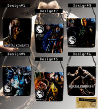 Mortal Kombat X Messenger Bag (Custom PlayStation 4 Xbox Windows game th... - $32.99