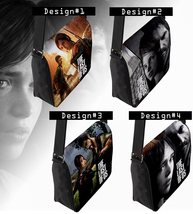 The Last of Us Messenger Bag (Custom PlayStation game theme) - $32.99