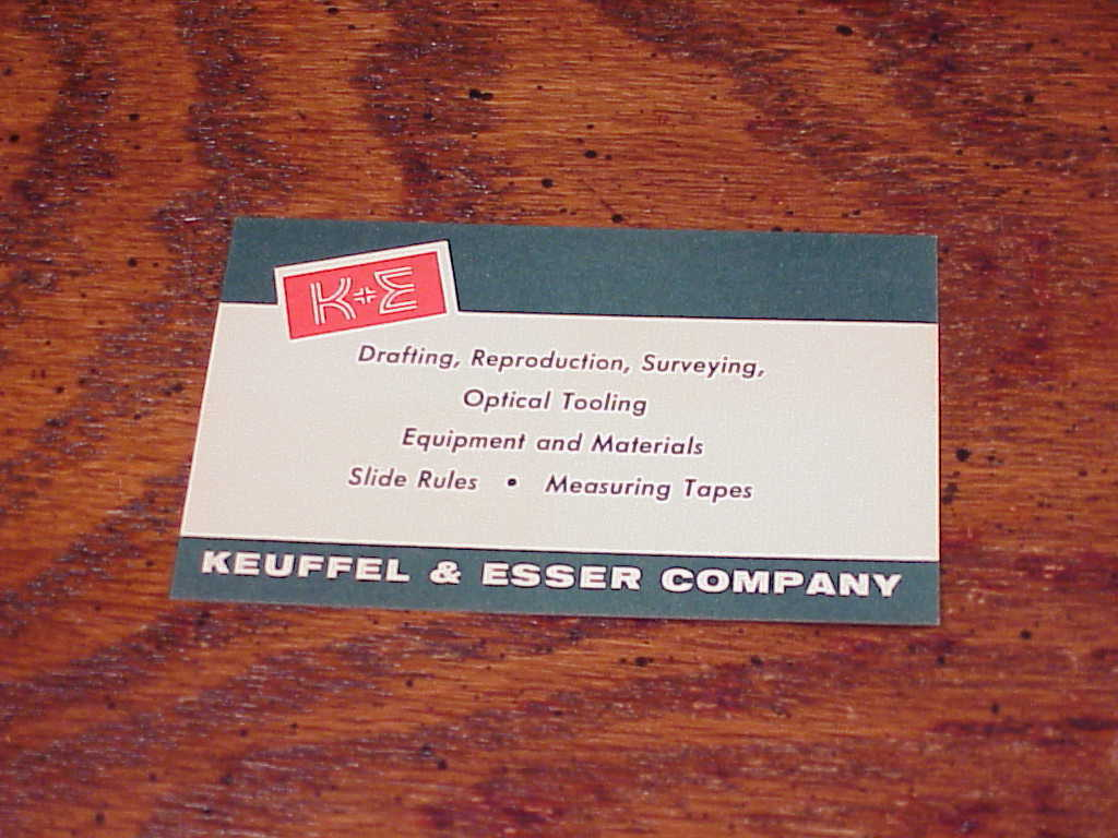 Lot of 12 Vintage Keuffel and Esser Co Surveying Red and White Focusing Cards