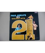 ALBUM 1963 Paul Anka 21 GREATEST HITS Vinyl (C) - $6.99