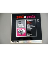 ALBUM 1964 Paul & Paula Sing For Young Lovers V... - $5.84