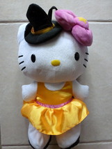 BACKPACK Sanrio HELLO KITTY in Halloween Costume Plush Adjustable Straps... - $20.99