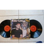 "ALBUM 1979 Willie Nelson & Leon Russell ""ONE FO... - $8.18"