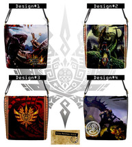 Monster Hunter 4 Ultimate Messenger Bag (Custom PlayStation Xbox Windows... - $32.99