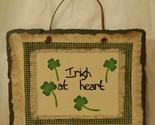 St patricks day   slate plaque  irish at heart001 thumb155 crop