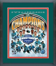 San Jose Sharks 2016 Western Conference Champions-11 x 14 Matted/Framed Photo - $42.95