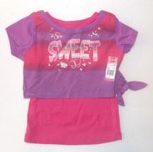 Garanimals Toddler Girls T-Shirt Sweet Size 24 Months NWT - $6.99