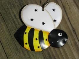 OR326 - Bee Metal Christmas Ornament  - $1.95