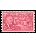 1945 2c Roosevelt Warm Springs, GA Scott 931 Mint F/VF NH - €0,80 EUR