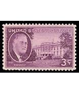 1945 3c F.D.R. White House Scott 932 Mint F/VF NH - $0.99